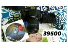 Full fresh Canon 700D, 18-55mm lense