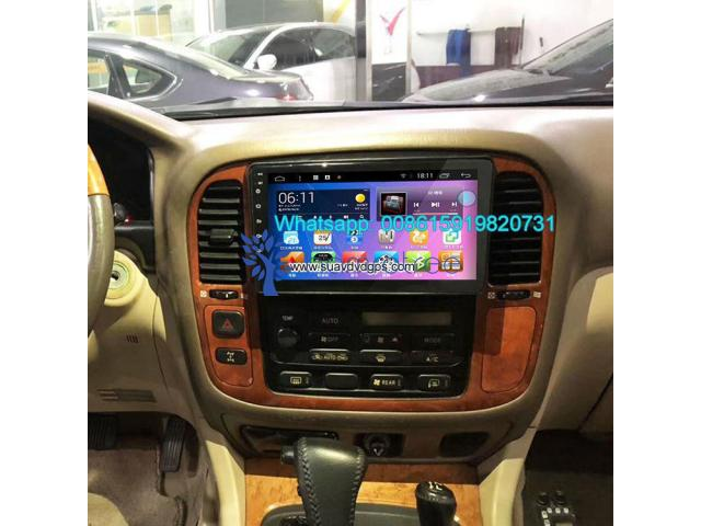 LEXUS LX470 Car audio radio android GPS navigation camera